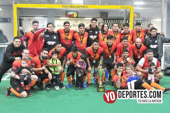 Jirosto del Oro gana la final de Hispano Soccer League en tiempo extra y penales