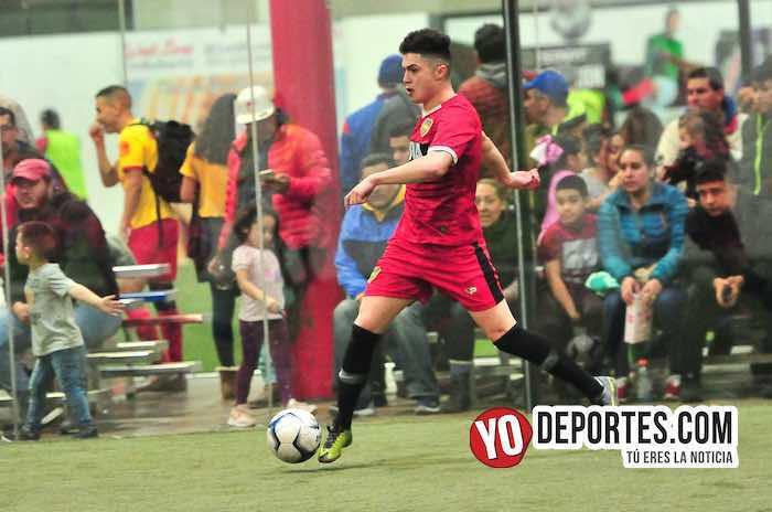 Johnny Fuentes-Boca Jr-Red Fire-Champions Liga Latinoamericana