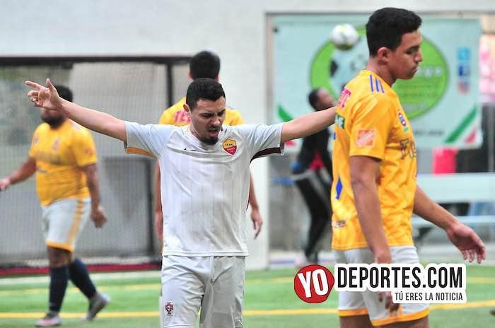 Cariocas ganan último partido con tres goles de José Román en la Liga 5 de Mayo