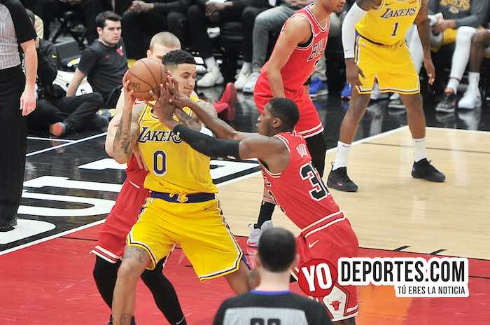 Kyle Kuzma-Chicago Bulls-Los Angeles Lakers