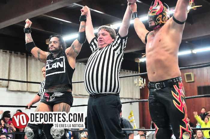 Laredo Kid y Cibernético triunfan en Chicago con Lucha Libre Total