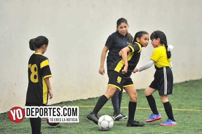 Las Matildas Liga Douglas futbol infantil
