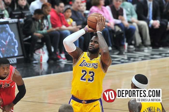 LeBron James-Chicago Bulls-Los Angeles Lakers-United Center