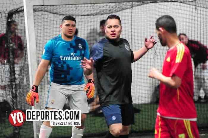 Las Chivas se despiden de la Taximaroa y Luna FC avanza en los playoffs de los viernes