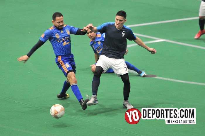 Mexcaltepec-Maravatio-Hispano Final Veteranos indoor Odeum