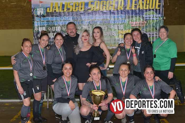 Real Betis campeonas de la Liga Jalisco Femenil