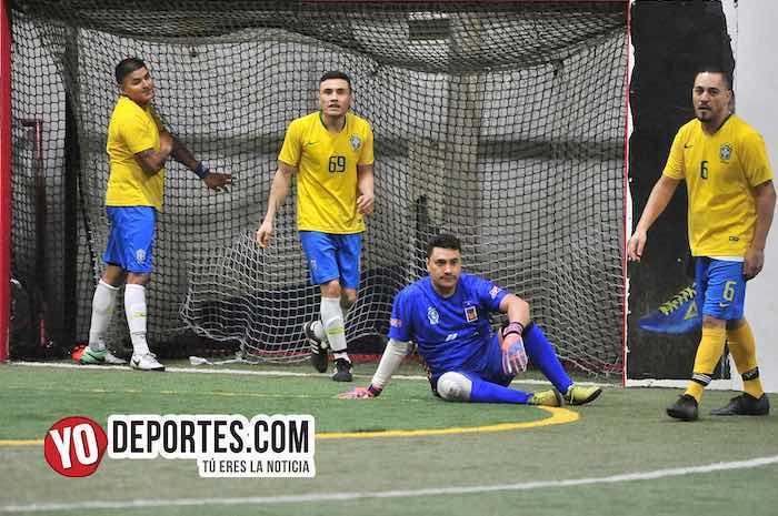 Real Juventud goleó a Brasil en la Liga 5 de Mayo