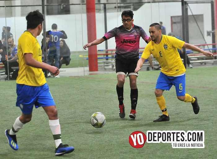 Real Juventud-Brasil-Liga 5 de Mayo soccer indoor