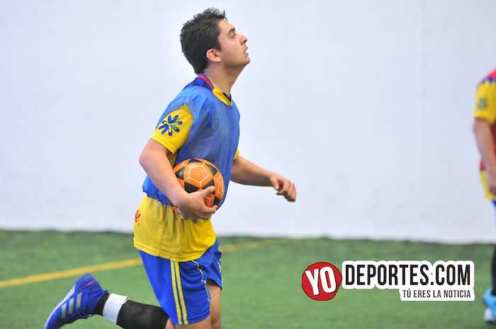 Teloloapan B-La Paz-Liga Douglas 35 y California Indoor Chicago