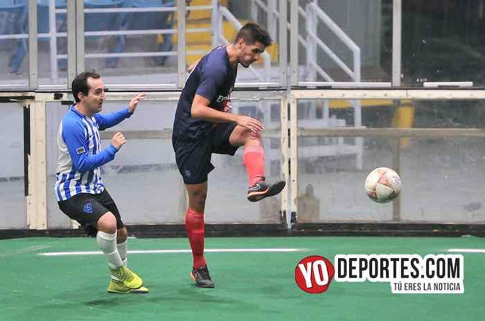 Autlán contra Jirosto del Oro la final de Hispano Soccer League en el Odeum