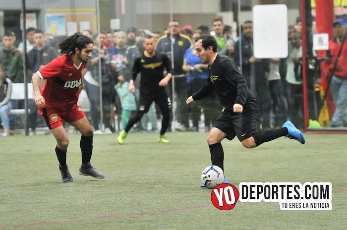Tony Aguilar sentencia al Boca Jr en la semifinal de la Champions