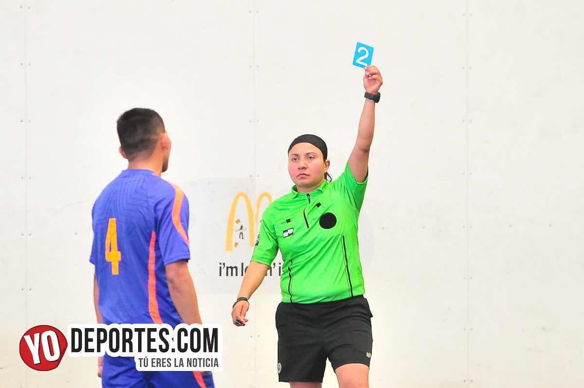 Arbitro Rosalba Luna-DC Victoria-Renamix-Liga Douglas