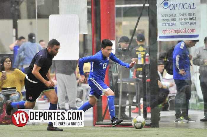 Arsenal-Deportivo Azul-Liga 5 de Mayo-Chicago indoor soccer futbol