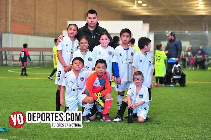 Heróico empate del Atlas United en la Liga Douglas Kids