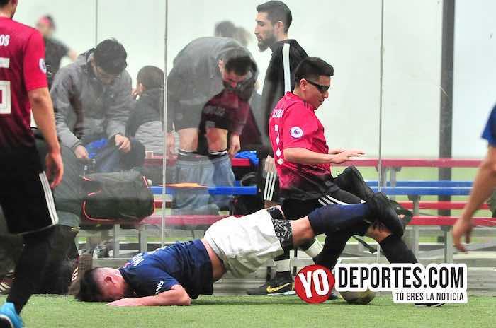 Callejoneros-Deportivo Pilsen-Liga 5 de Mayo indoor juego de vuelta