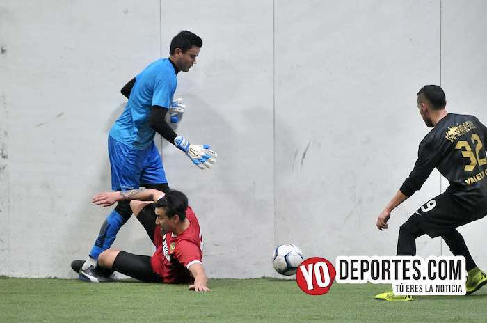 Cesar Rios portero-Valencia-Boca Jr-Champions Liga Latinoamericana-semifinal