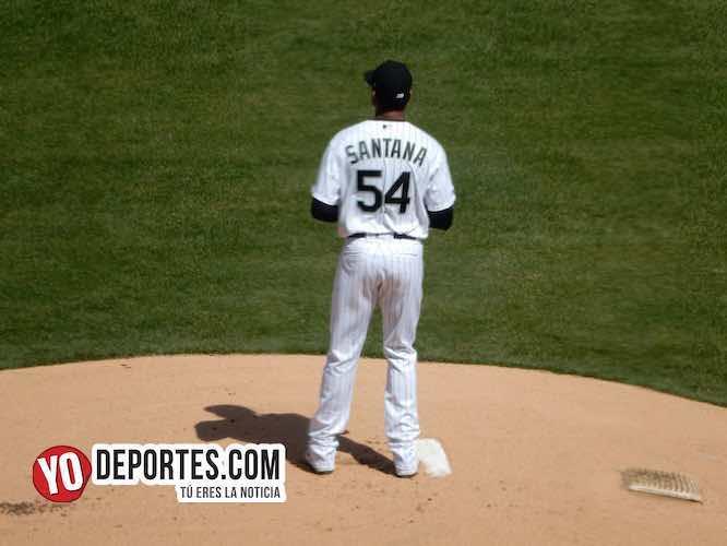 White Sox dan de baja a Ervin Santana y regresa Eloy Jiménez