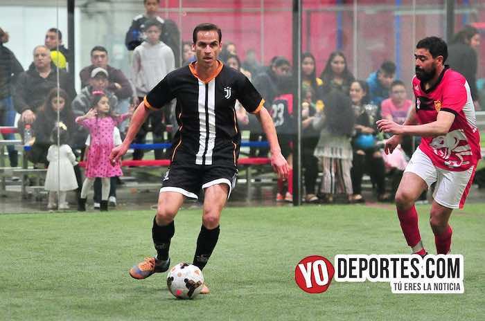 Ibarra-Pirma Leon-Liga Latinoamericana-semifinal veteranos futbol
