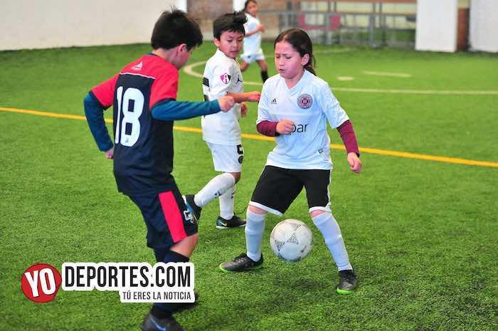 La Villita-Atlas United-Liga Douglas Kids futbol Chicago infantil