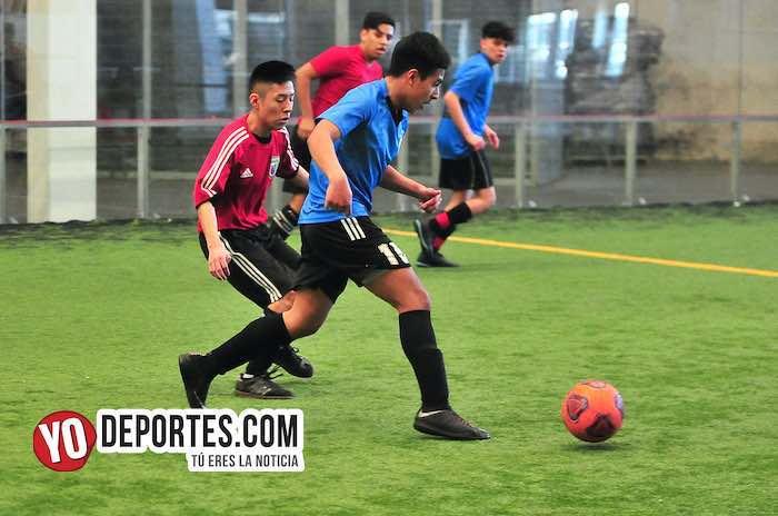 Real Sociedad-Santos-Liga Douglas indoor soccer
