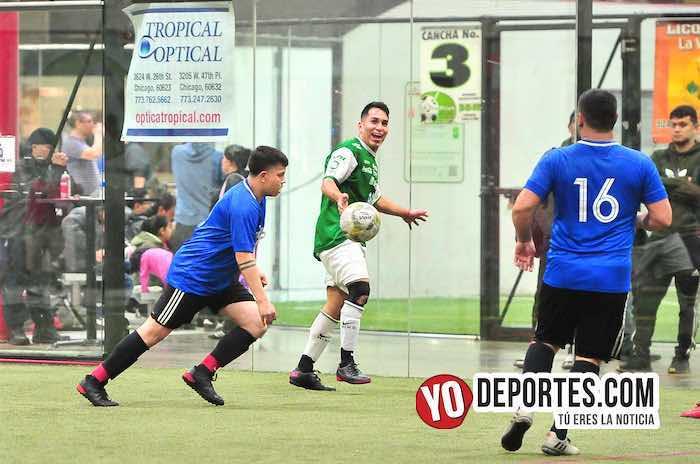 San Luis-Deportivo Maya-Liga 5 de Mayo futbol indoor Chicago