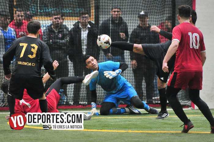 Valencia-Boca Jr-Champions-Liga Latinoamericana-semifinal portero Cesar Rios