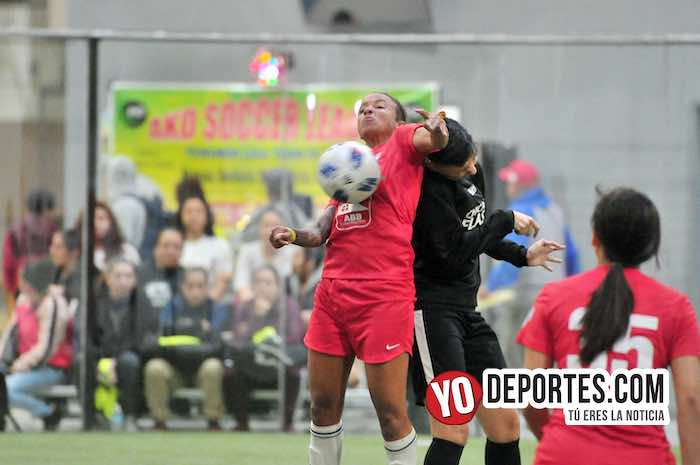Hammind Indiana Girls contra Chicago Flash en AKD Soccer League