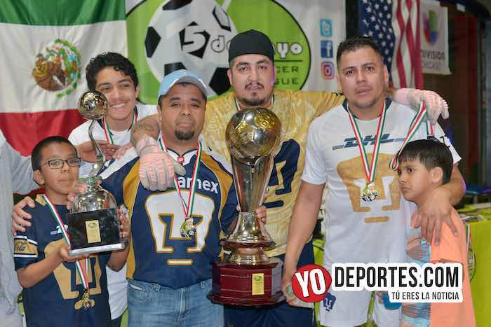 UNAM gana dos finales de la Liga 5 de Mayo en una noche