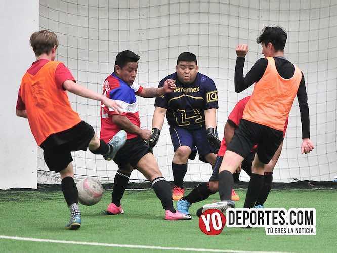 El Español dicta goleada al Manchester en la Liga Jalisco