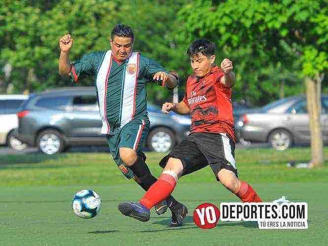 Tupátaro y Roca 712 se reparten un punto en la Liga Douglas