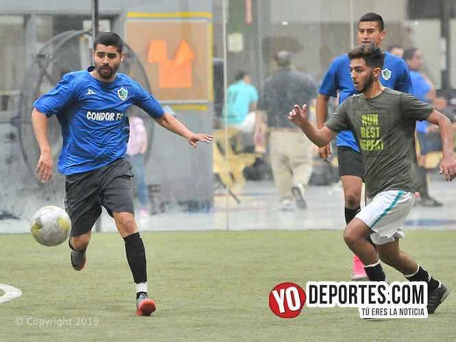 Cóndor FC acribilla 9-0 a Chicago Market en los cuartos de final