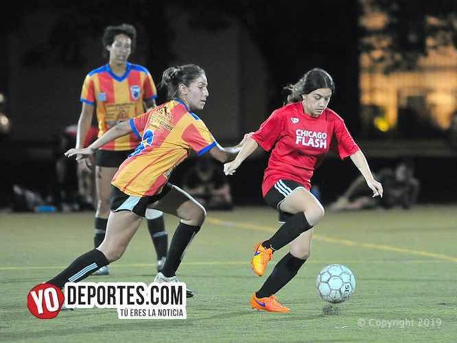 Chicago Flash a la final femenil de AKD Soccer League