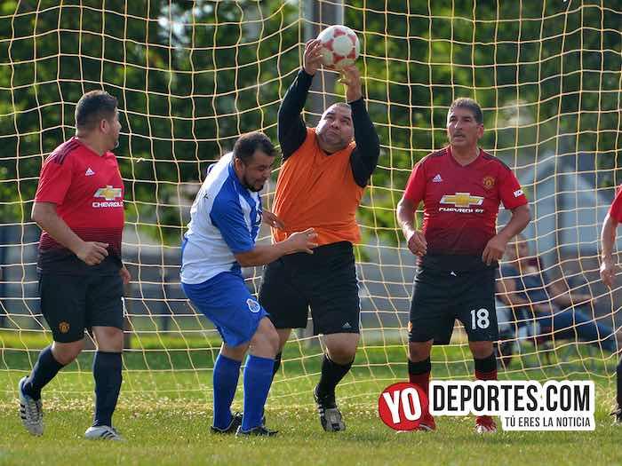 San Antonio aplica goleada a Cicero en veteranos de la Liga Jalisco