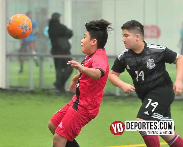 Atlético Morelos 8-7 Real Tilza en la Douglas Kids
