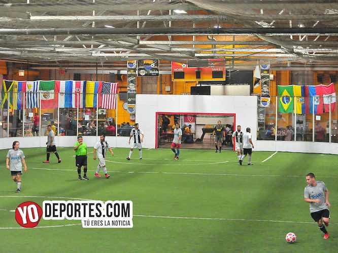 Horarios del jueves en Chitown Futbol Veteranos+30