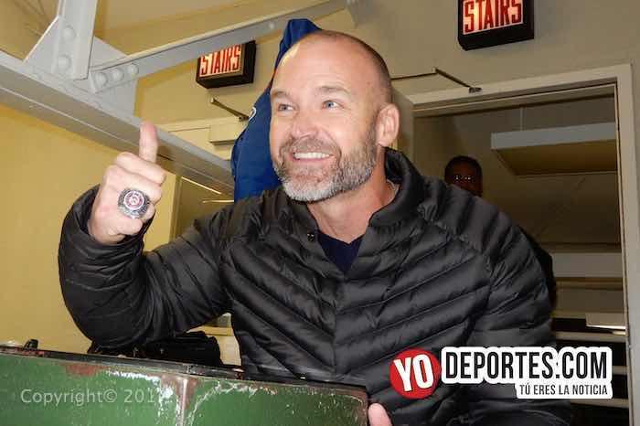 El lunes presentan a David Ross como nuevo manager de los Cubs