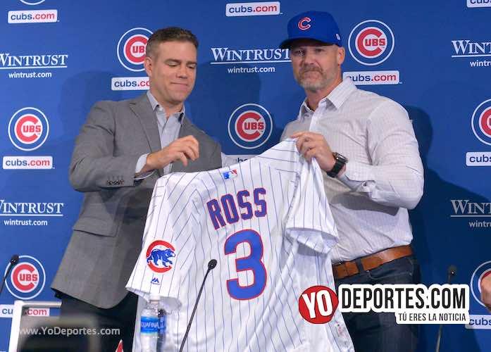 David Ross el nuevo manager de los Cachorros de Chicago