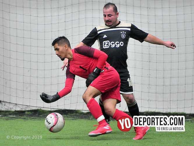 Deportivo Hidalgo no le perdona nada a Lux Auto en la Douglas