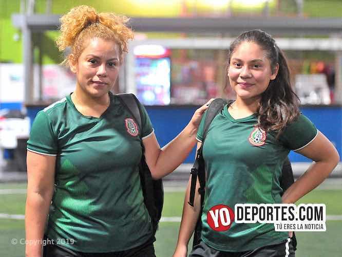 Odalis Zapata y su hija Skarleth Zapata Del Real Puebla en la Liga Interamericana