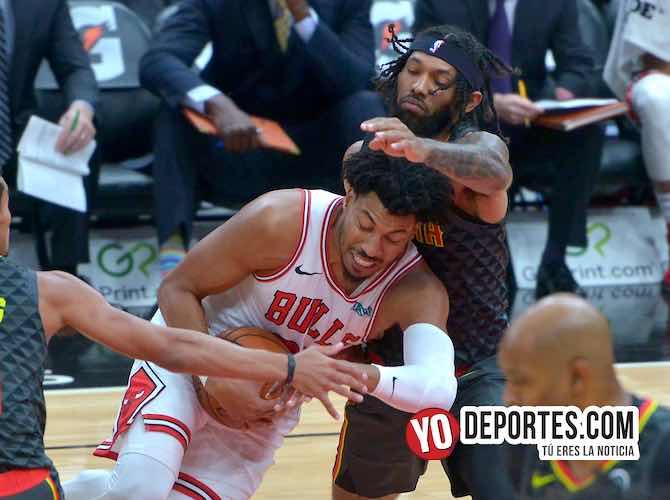 Embisten los Bulls a los Hawks de Atlanta en pretemporada