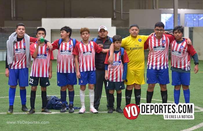Atletic Magic doma a los Pumas Chicago en la Douglas Kids