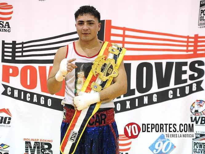 Oscar Ochoa clausura los Power Gloves con triunfo en las 178 libras