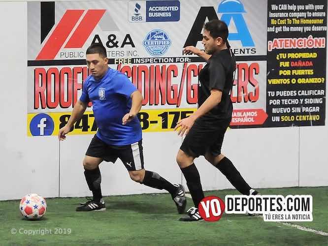 Acámbaro no pudo con Reynosa FC en veteranos de Chitown