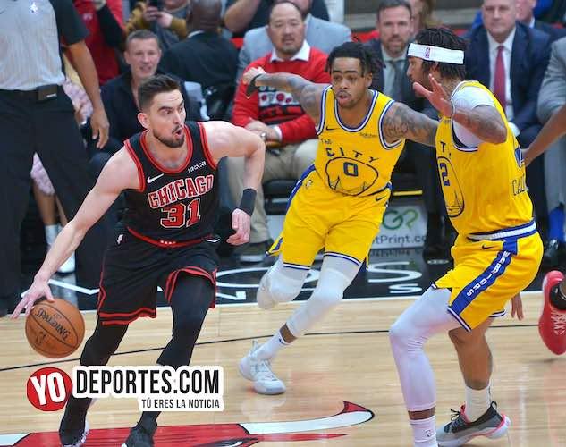 Los Bulls pierden con el peor equipo de la NBA, Golden Sate Warriors