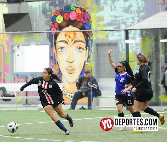 Victoria del Victory FC en jueves femenil de AKD Soccer League