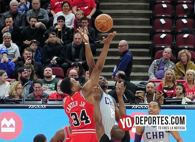 Los Bulls no pudieron con los Hornets de Charlotte