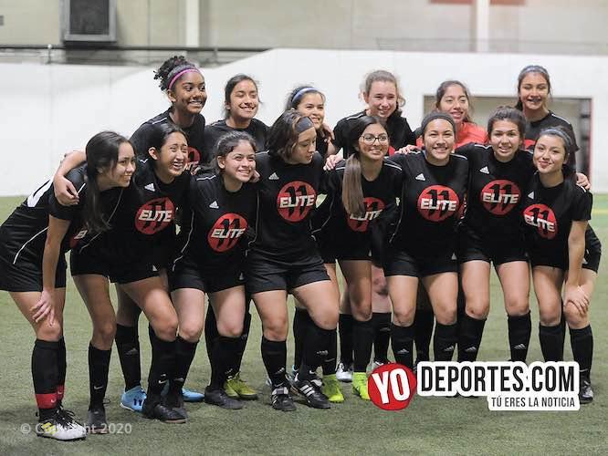 Elite 11 sigue con paso perfecto sin perder en la 5 de Mayo Femenil