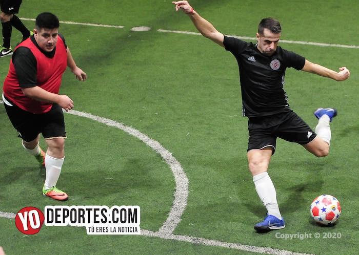 Iguala rumbo a la final con paso perfecto en veteranos de Chitown Futbol
