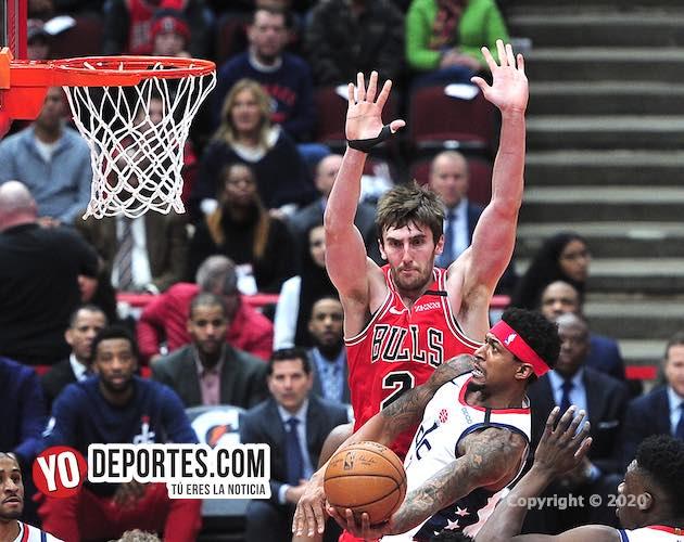 La magia de los Wizards de Washington no funcionó con los Bulls en Chicago