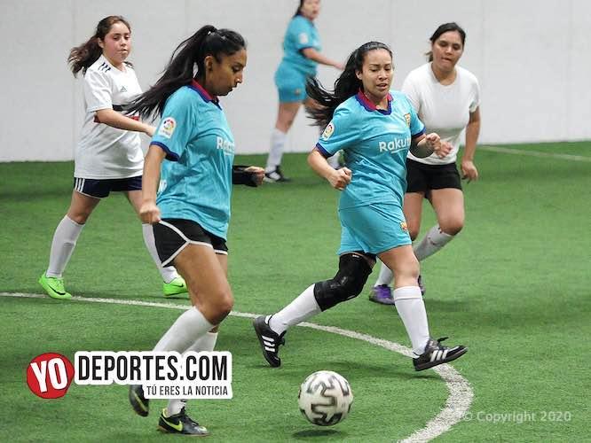 Ganadoras las Tecpan en la Kelly Soccer Femenil Libre